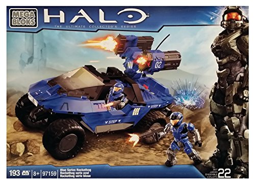 Mega Bloks Halo Blue Series Rockethog (97159) [Retired Set] by Halo Wars
