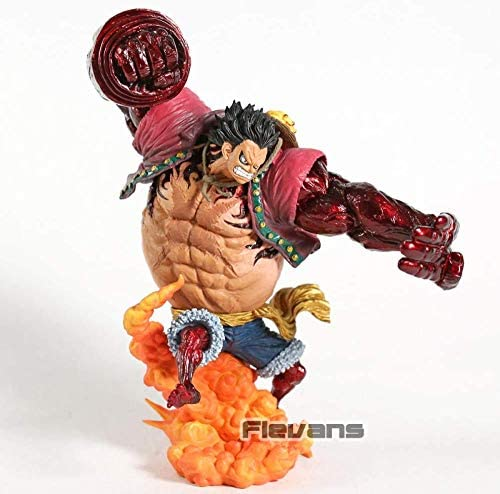 Dsfew Banpresto One Piece Monkey D.Luffy Gear 4 Kong Gun Pvc Figure Collectible Model Toy, Perfect Voor Kantoorversieringen En Speelgoed.