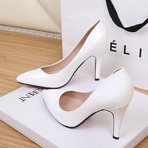 Zapatos Estudiante nbsp;10cm Ballet Solo Superficial Boca Chica Zapatos Transversal Lolita Zapatos Hadas Plana Inferior Blanco GAOLIM De Femeninos Correa 07w17zU