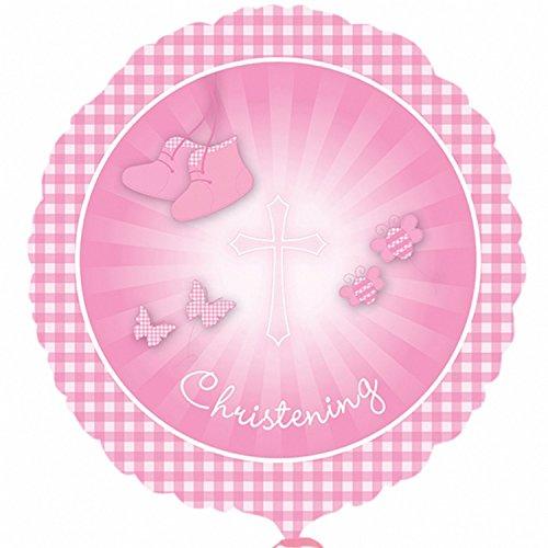 Bonbon Forme Rose Ballon 46 Fille En Christening Amscan Cm De garçon Confettis Environ Pour 7qBwaEO