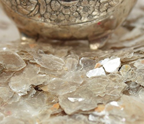 Clear - Pearl - Natural Mica Flakes - 311-4330 (One Pound Bulk) by Meyer Imports (Image #5)