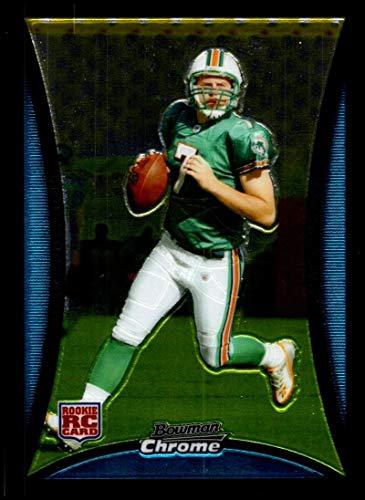 2008 Bowman Chrome #BC60 Chad Henne NM-MT RC Miami Dolphins Official NFL Football Card