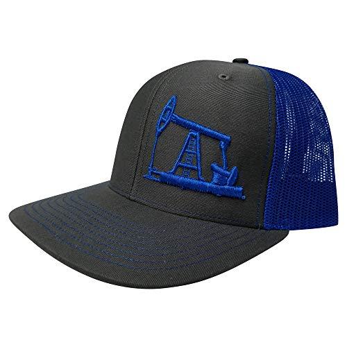 sale retailer 7b943 a8ac3 Richardson Oilfield Drilling Rig Snapback Hat Custom Trucker Cap Men Women
