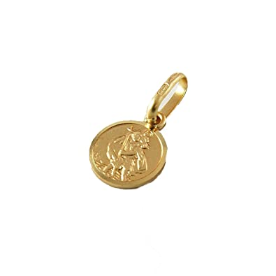 9ct Gold St Christopher Pendant