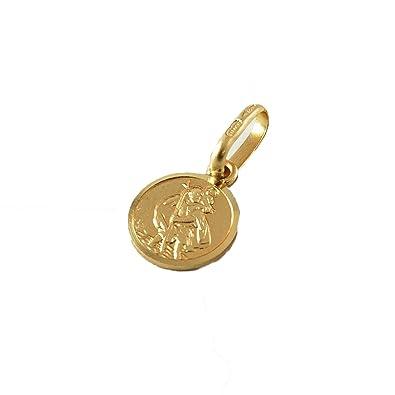 9ct gold st christopher pendant amazon jewellery 9ct gold st christopher pendant aloadofball Images
