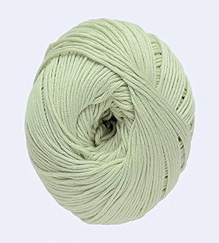 DMC Natura Hilo, 100% algodón, Verde Claro N12: Amazon.es: Hogar