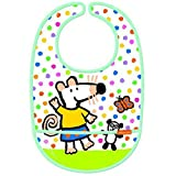 Petit Jour Paris Coated Cotton Bib - Maisy Mouse