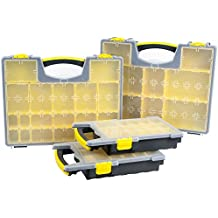 Stalwart 75-MJ4645102 Parts and Crafts Portable Storage Organizer Box (Set of 4)