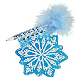 3.5'' SNOWFLAKE NOTEPAD WITH PEN, Case of 288