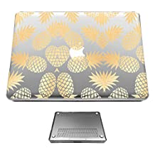 c01406 - Tropical Pineapple Fruit Fashion Trendy Design Fashion Trend Case For 11-Inch Macbook Air 11.6 (2012/2016 Protective Case Hard Plastic Full Case Front and Back