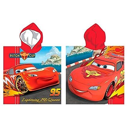 Toallas y Ponchos disney infantiles licencia varios modelos a elegir. (Poncho Cars 1)
