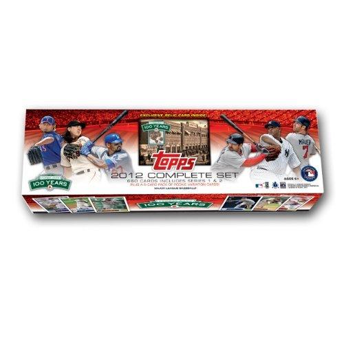 MLB Boston Red Sox 2012 Topps Fenway Factory Set