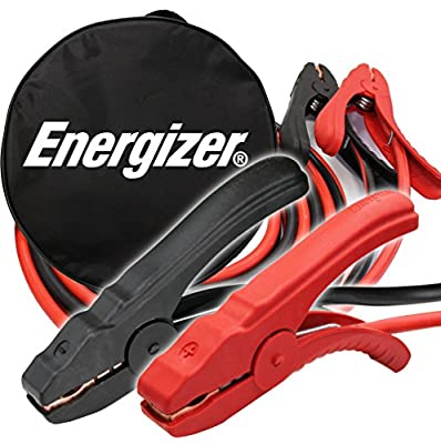 Energizer 4-Gauge Jumper Battery Cables 16 Ft Booster - Jump Start your vehicle with the ENB-416