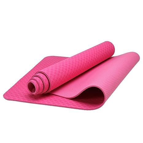 Yoga Mat - Eco Friendly TPE Material - Thick - Anti Slip ...