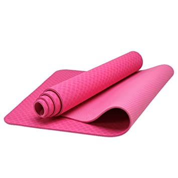 Yoga Mat - Eco Friendly TPE Material - Thick - Anti Slip ...