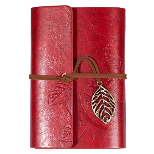 Lian LifeStyle Leather Notebook Journal