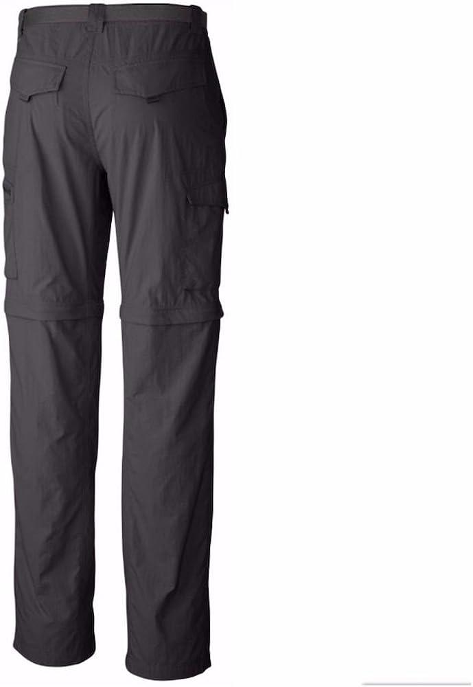 New Columbia mens Kestrel Trail UPF hiking casual convertible pants shorts Blue
