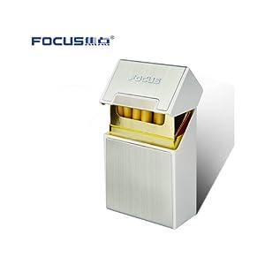 FOCUS Cache paquet 20 cigarettes Argent