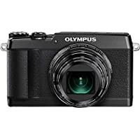 Olympus SH-1 16 MP Digital Camera (Black) (Certified Refurbished)
