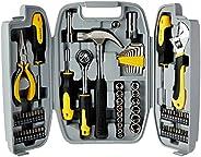 Maleta de ferramentas com 78 peças EDA 9GD, Cinza