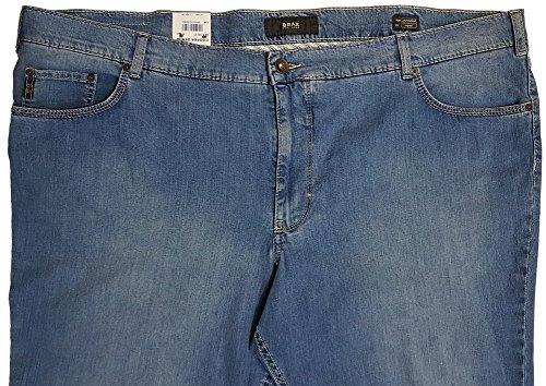 BRAX Herren Straight Leg Jeanshose COOPER DENIM 84-6108/27 Gr. W50/L32, Blau Jeans Hose