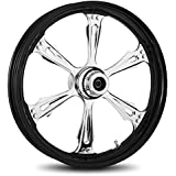 """RC Components Striker Twilight 23"""" Front and Rear Wheel Package for 2009-2014 Harley-Davidson Touring models without ABS brakes - RCWP23-09-STRKR"""