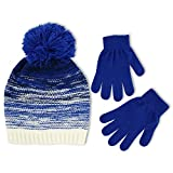 ABG Accessories Big Girls' Gradient Knit Beanie Glove Set