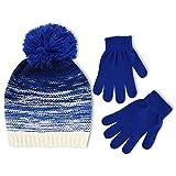 ABG Accessories Big Girls' Gradient Knit Beanie Glove Set