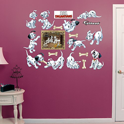 FATHEAD Disney 101 Dalmatians Puppy Collection Vinyl Decals