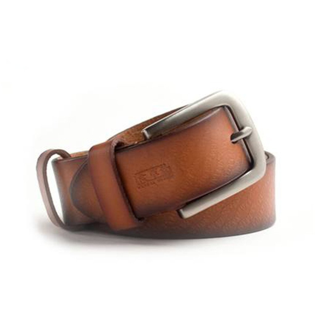 HERBAL HEAVEN Mens Business Casual Leather Belt