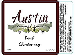 NV Austin Custom Winery Peach Chardonnay 750 ml …