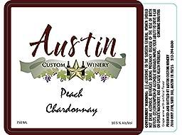 NV Austin Custom Winery Peach Chardonnay 750 ml …