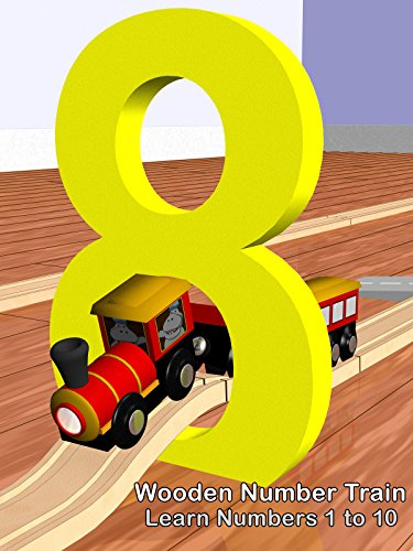 Wooden Number Train - Learn Numbers 1 to 10 ()