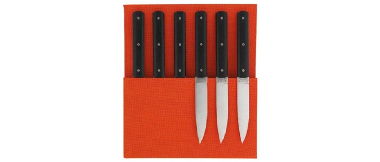 Perceval Juego de 6 Cuchillos de Mesa Atelier Modelo 9.47 ...