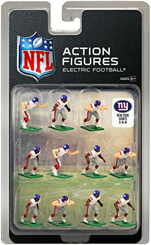 - New York Giants Away Jersey NFL Action Figure Set
