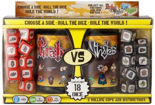 Pirates vs. Ninjas Dice Game (Game Pirates Dice)