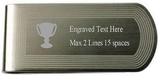 Select Gifts Sieger Trophy Geld Clip graviert Eigenen Text mit Meldung APS861ZZ77ENGBOX