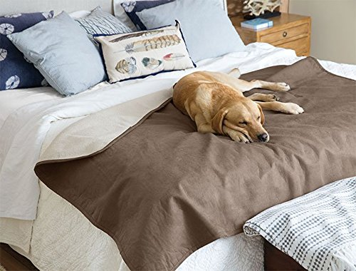Orvis Reversible Dog Blanket/Only Reversible Dog-Proof Throw, Bark, Large For Sale
