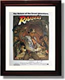 Framed Cast of The Raiders of The Lost Ark Autograph Replica Print - Raiders of The Lost Ark - Movie Promo