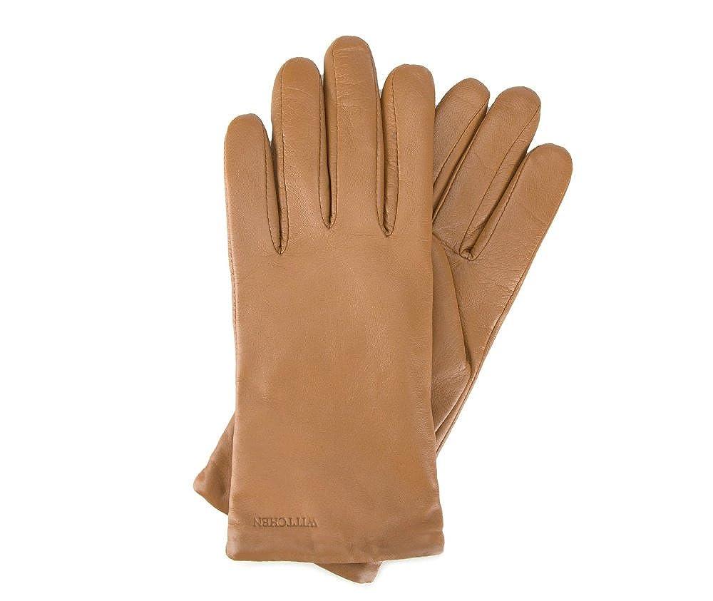 17b77b68cc68b1 Wittchen Handschuhe aus Leder für Frauen Herren, Damen Gloves: Amazon.de:  Bekleidung