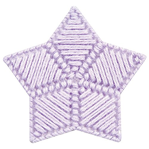Mary Maxim Twinkle Yarn, Lilac (Nylon Fingering Weight)