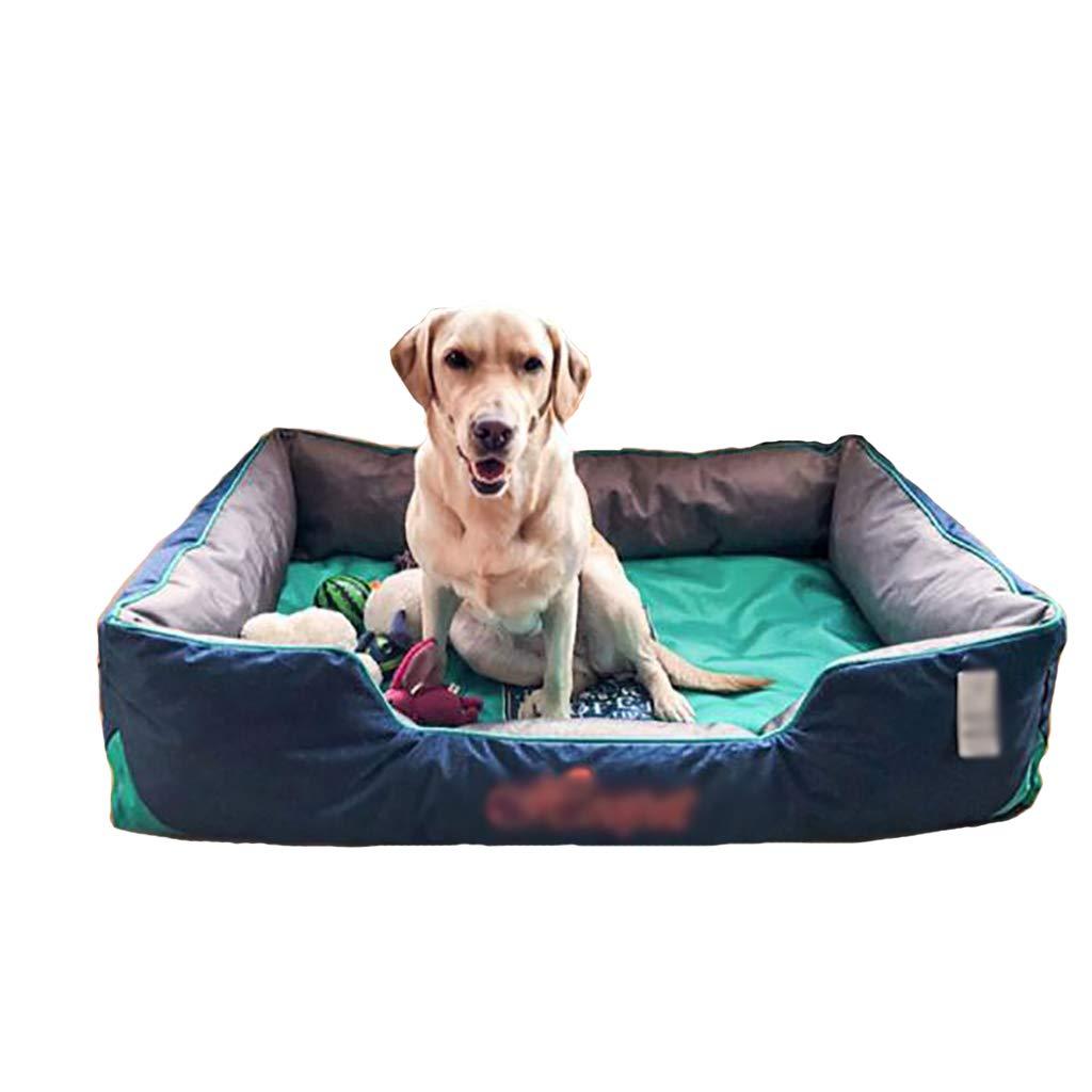 ペットハウスケンネルミディアム犬大きな犬ラブラドール防水洗濯可能なペット用品冬のパッド (色 : C, サイズ さいず : 120*80*29) B07L1P8W6H A 75*65*25 75*65*25|A