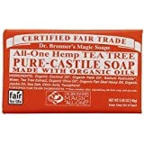 Dr. Bronner's Magic Soaps: Pure Castile Soap Bar, Tea Tree 5 oz