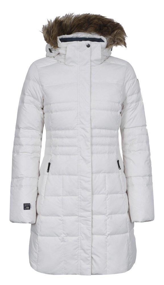 ICEPEAK Abrigo para Mujer Jill, otoño/Invierno, Mujer, Color Blanco - Natural White, tamaño 42 [DE 40]: Amazon.es: Deportes y aire libre