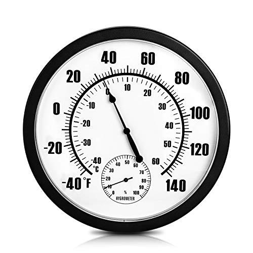 Indoor Outdoor Weather Thermometer Hygrometer 10