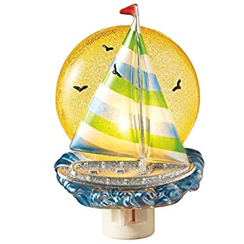 Midwest-CBK Sail Boat Night Light
