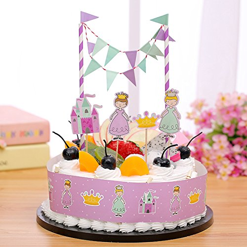 Bunting Cake Toppers Shop Bunting Cake Toppers Online