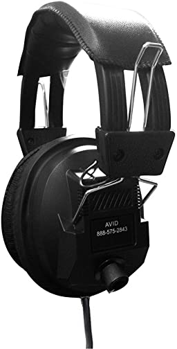 AVID Education AE-808 Stereo Classroom Headphone with Volume Control
