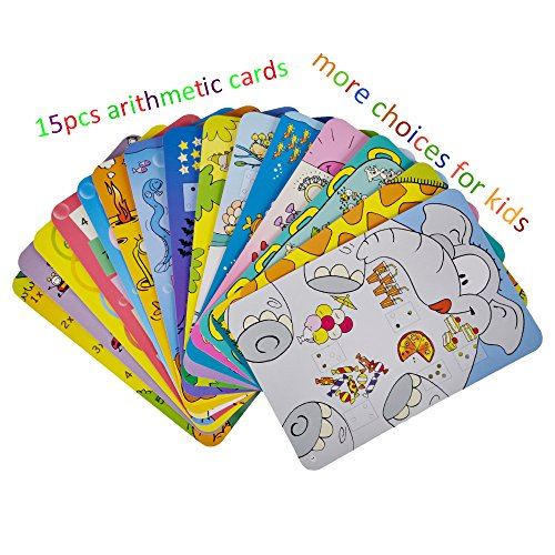Toys For Girls Age 15 : Preschool maths cards learning toys wishtime colourful