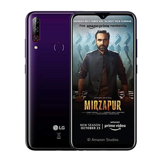 LG W30 PRO with 16MP Front Camera (Midnight Purple, 4GB RAM, 64GB Storage, SD 632)